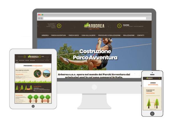Sito web – Arbore Snc