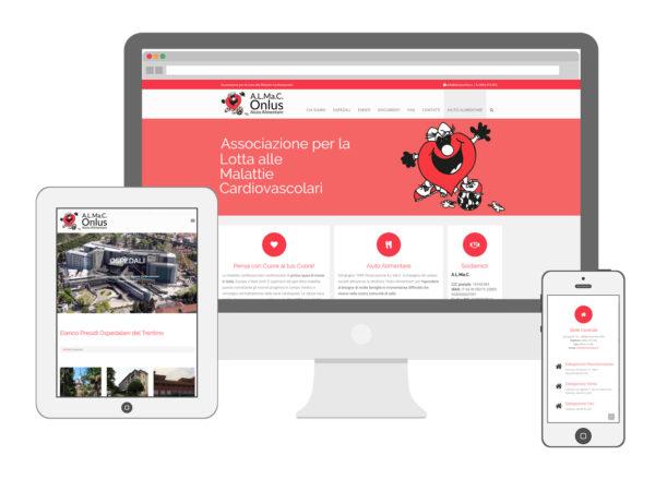 Realizzazione siti internet a Rovereto - Sito Almac