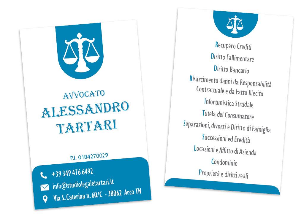 Biglietti da visita – Studio Tartari