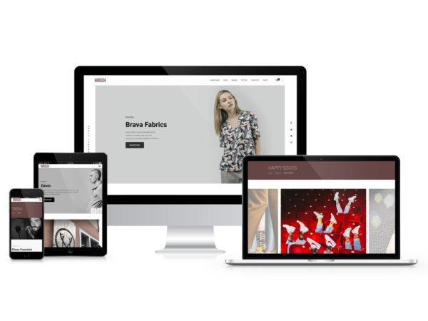 Sito web Hirsch Concept Store
