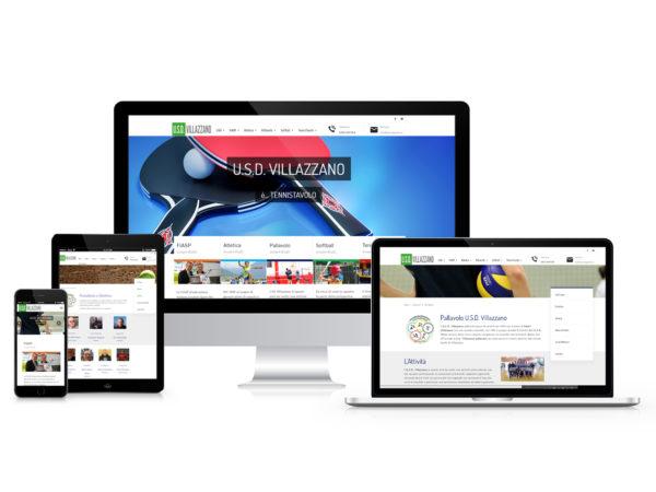 Realizzazione Siti internet U.S.D. Villazzano