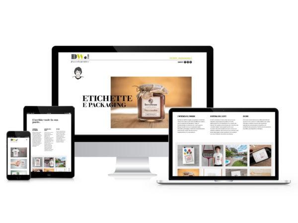 Realizzazione Sito web Daniea Webber Studio