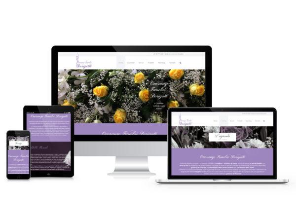 Realizzazioni siti web per Onoranze Funebri in Trentino