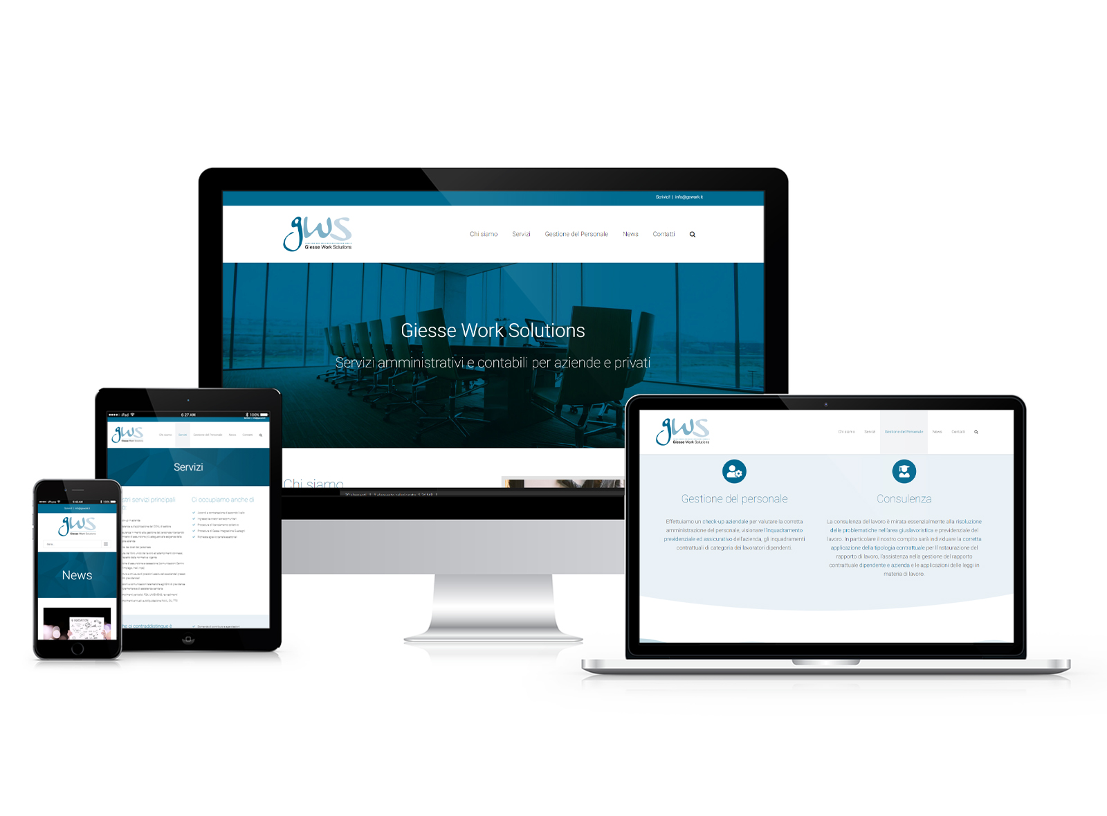 Sito web GSWork Solutions