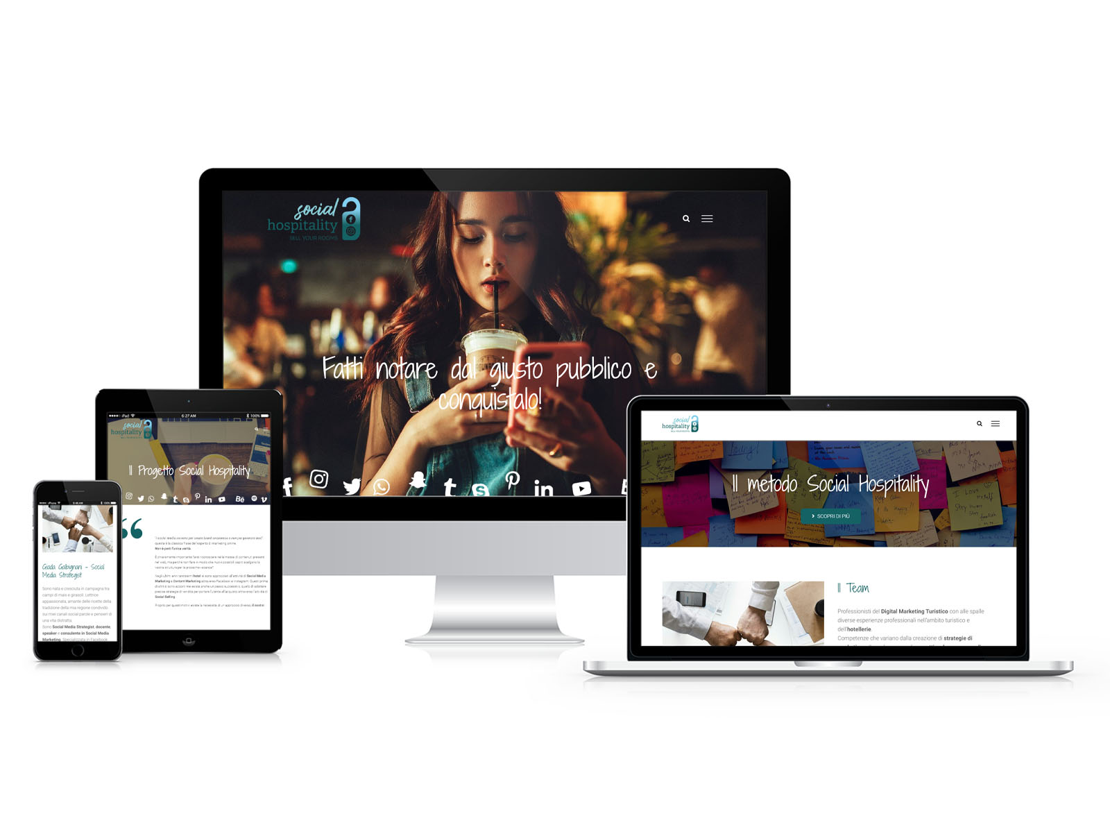 Sito web Social Hospitality